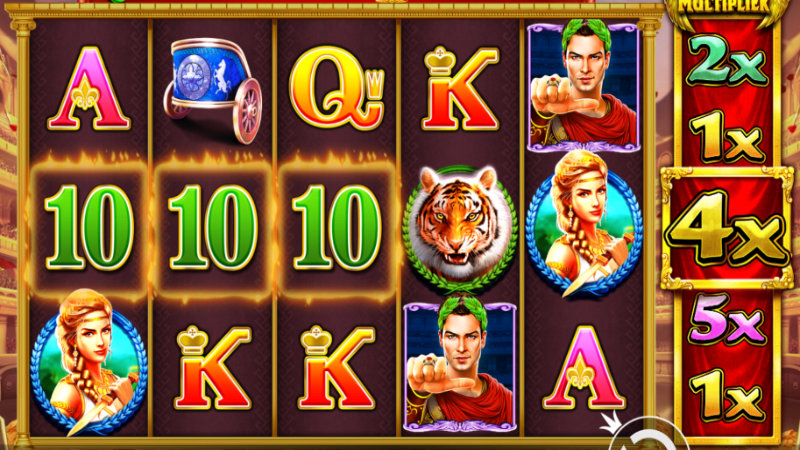 wild gladiators slot gameplay