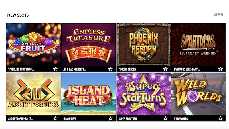 aspers casino review slot games