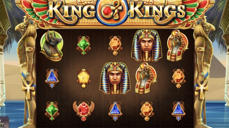 king of kings slot gameplay