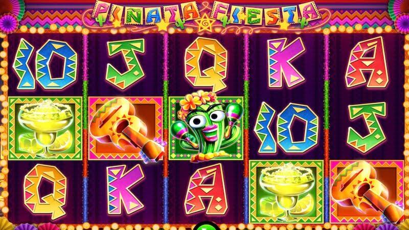 pinata fiesta slot gameplay