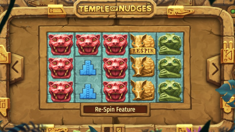 temple of nudges slot rules