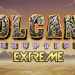 volcano eruption extreme slot logo