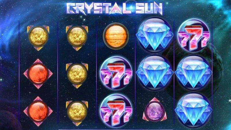 crystal sun slot gameplay