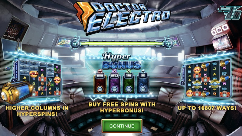 doctor electro slot rules