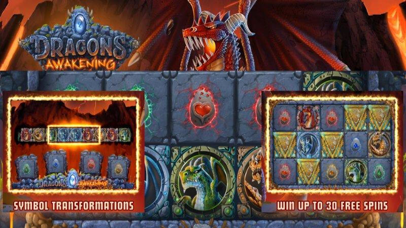 dragons awakening slot rules