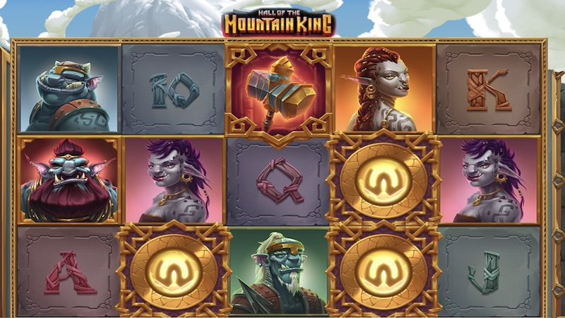 hall of the mountain king slot gameplay