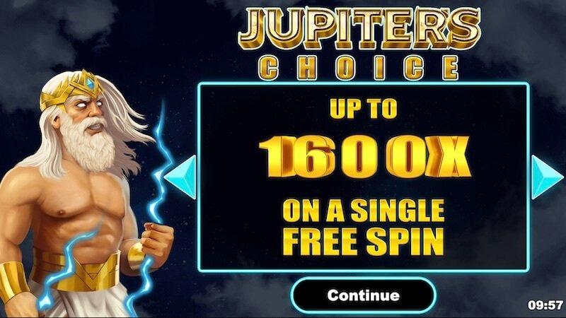 jupiters choice slot rules