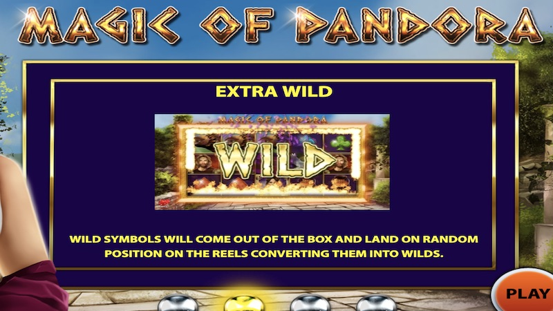 magic of pandora slot rules