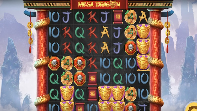 mega dragon slot gameplay