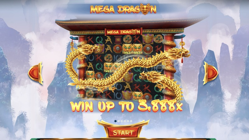 mega dragon slot rules