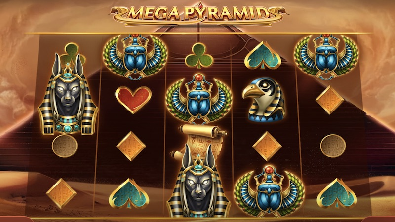 mega pyramid slot gameplay