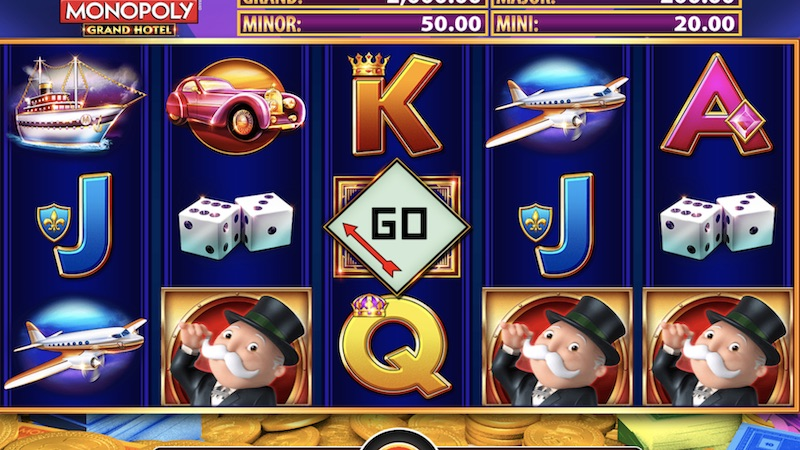 monopoly grand hotel slot gameplay