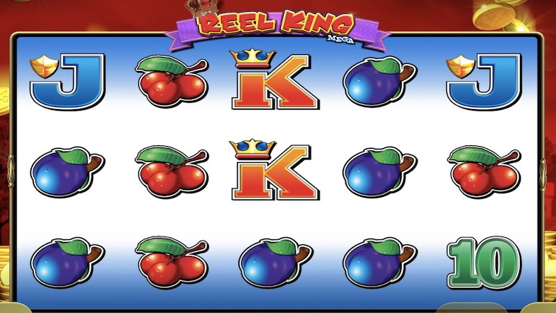 reel king mega slot gameplay