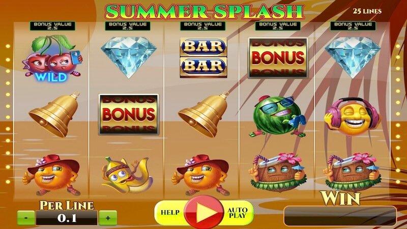 summer splash slot gameplay