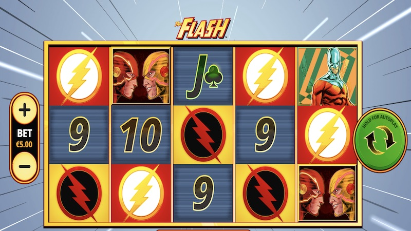 the flash slot gameplay