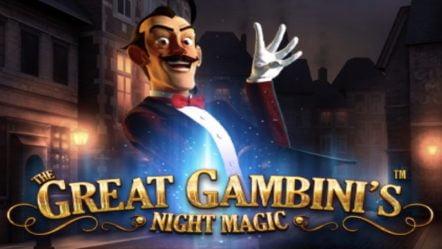 The Great Gambini's Night Magic Slot