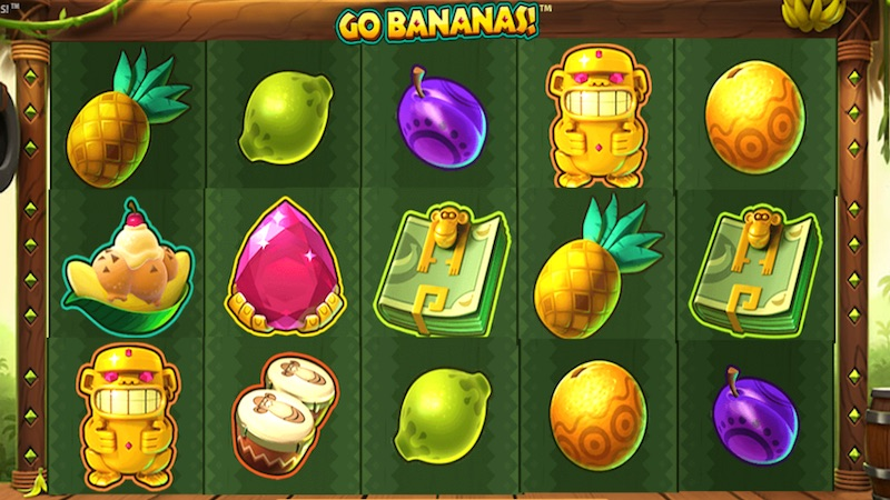 go bananas slot gameplay