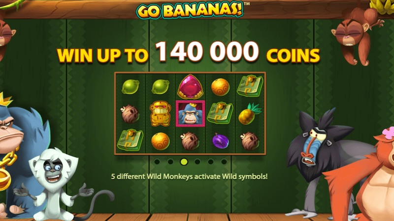 go bananas slot rules