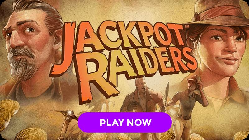 jackpots raiders slot signup