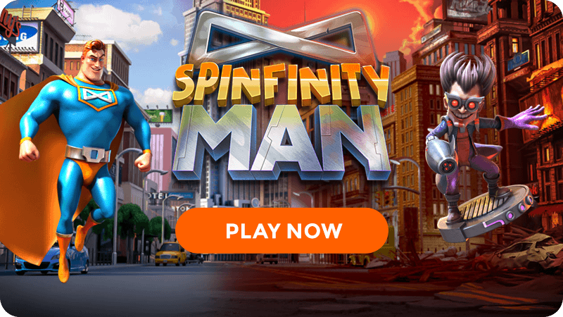 spinfinity man slot signup