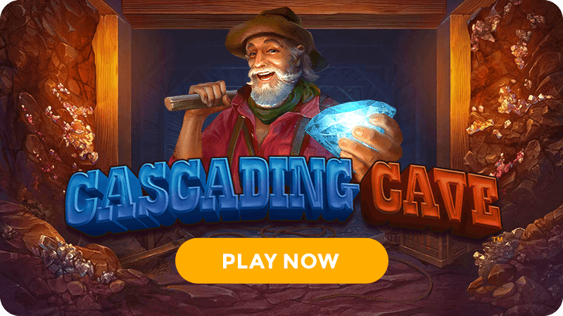 cascading cave slot signup