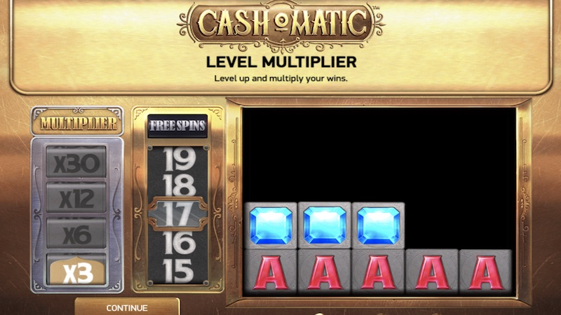 cash o matic slot gameplay