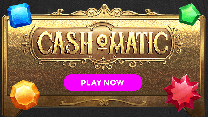 cash o matic slot signup