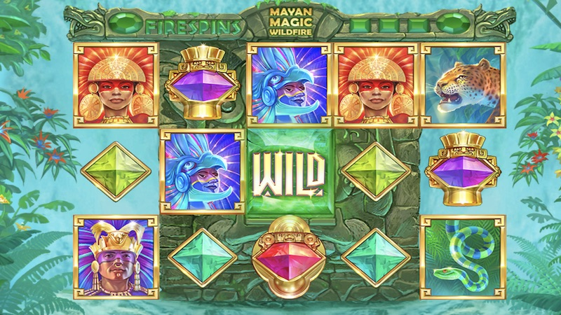 mayan magic wildfire slot gameplay