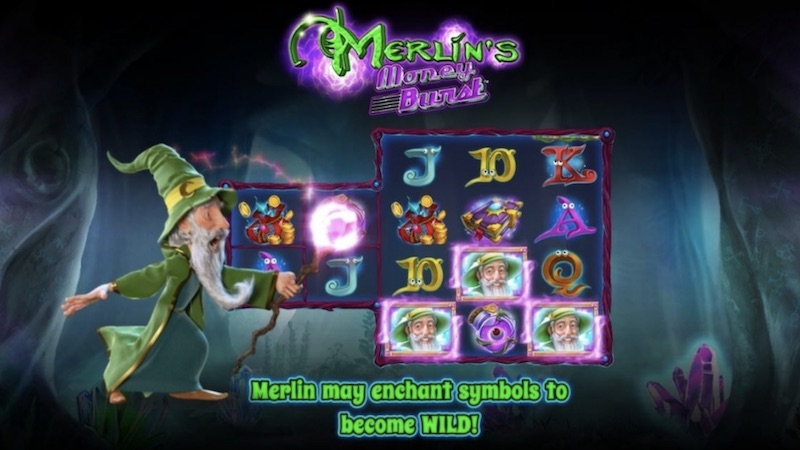 merlins money burst slot gameplay
