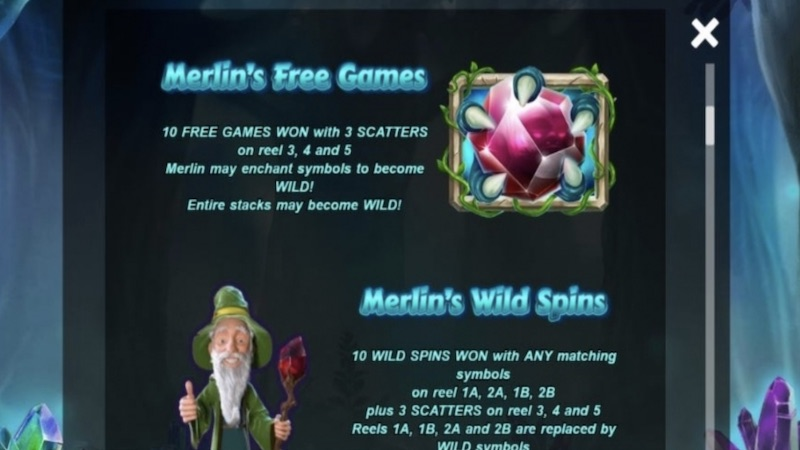 merlins money burst slot rules