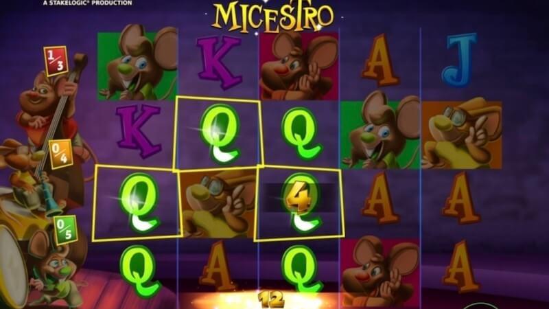 micestro slot gameplay