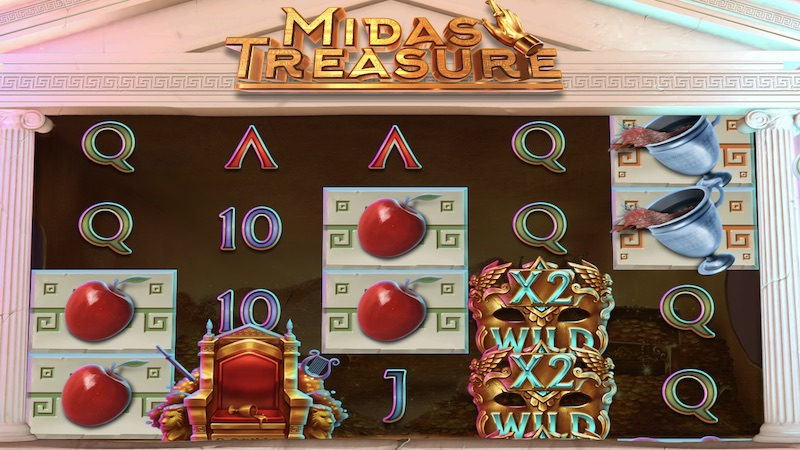 midas treasure slot gameplay