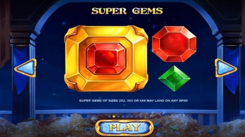 royal gems slot rules
