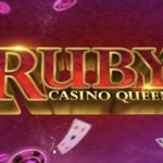 ruby casino queen slot logo