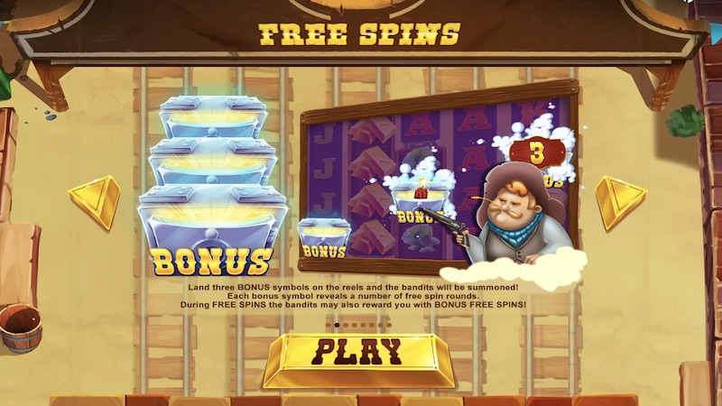 the greatest train robbery slot rules
