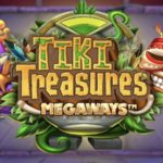tiki treasures megaways slot logo