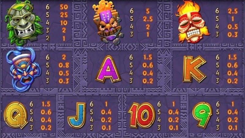 tiki treasures megaways slot rules