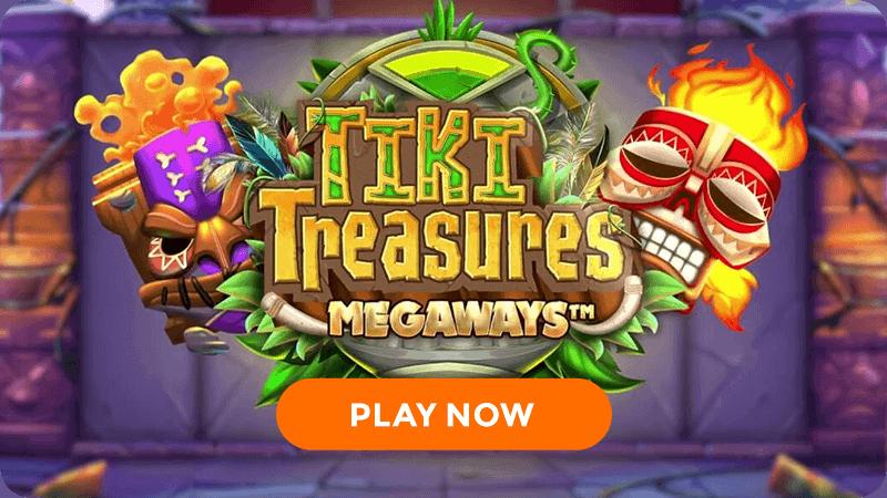 tiki treasures megaways slot signup