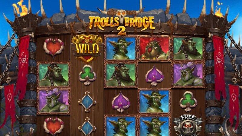 trolls bridge slot gameplay
