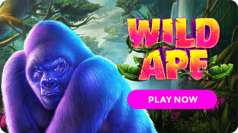 wild ape slot signup