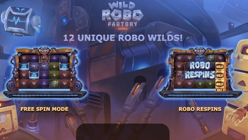 wild robo factory slot rules