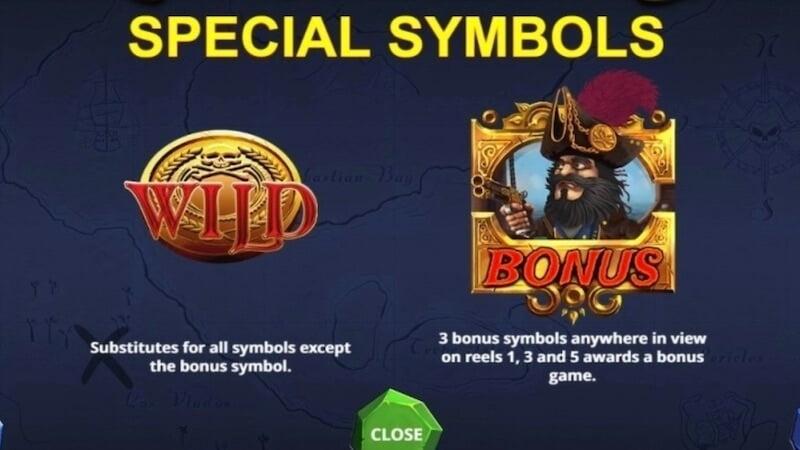 blackbeard slot rules