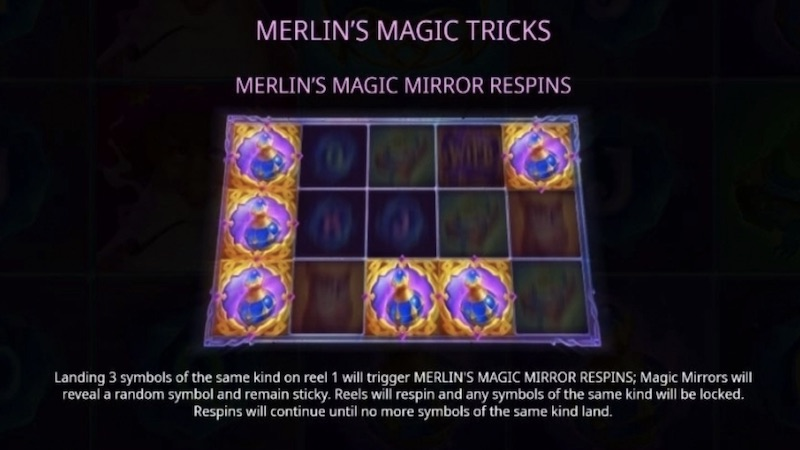 merlins magic mirror slot rules