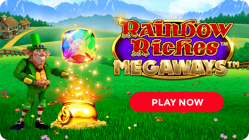 rainbow riches megaways slot signup