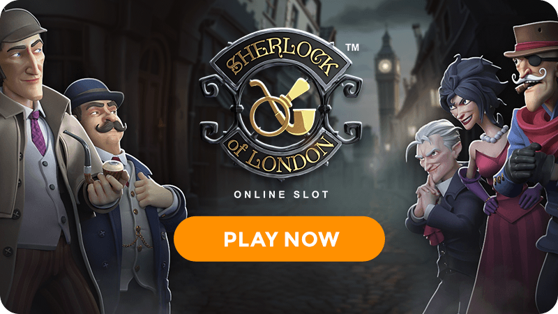 sherlock of london slot signup