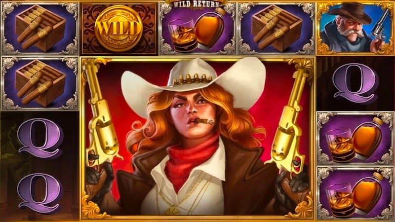sticky bandits wild return slot gameplay