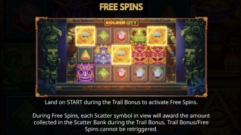 the golden city slot rules