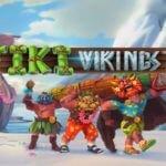 tiki vikings slot logo