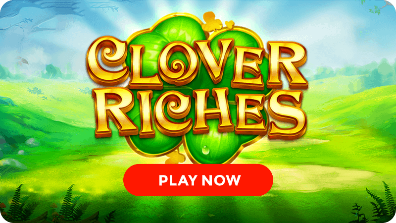 clover riches slot signup