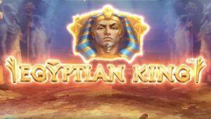 egyptian king slot logo
